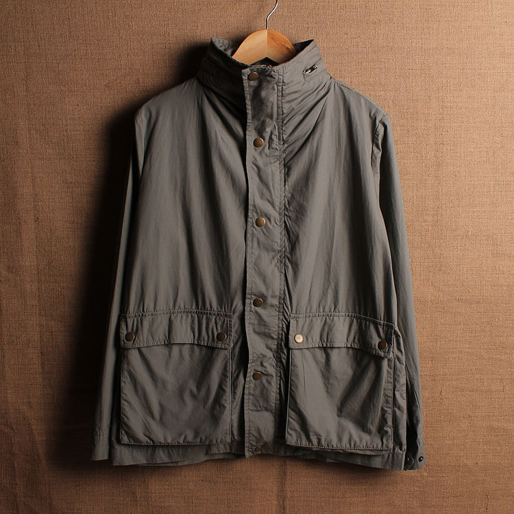 Vintage retro finishing m65 jacket 100% cotton outerwear with a hood(China (Mainland))
