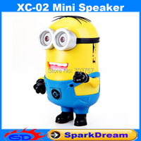 XC-02 Speaker With New Devise Good Quality Minions Mini Portable Speaker