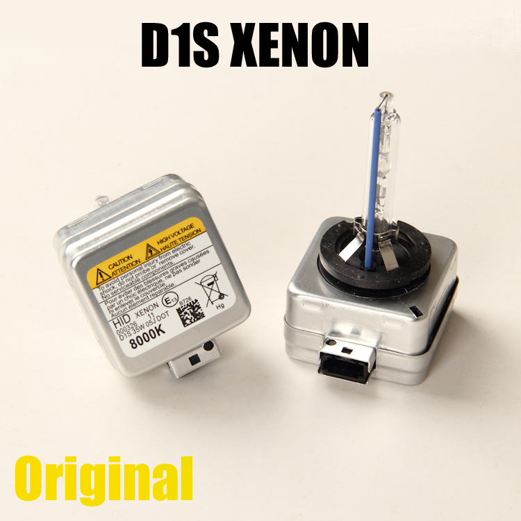 100% Genuine Of Original 2 x D1S Replacement HID XENON Bulbs 4300K 5000K 6000K For Mercedes-Benz BMW Audi Porsche Land Rover(China (Mainland))