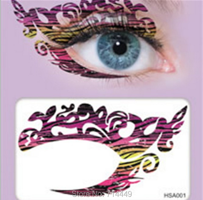 Professional Hipster Party Charming Eye Makeup Stickers Natural Water-proof Double Eyes sticker 2010 New Fashion Styling Tools(China (Mainland))