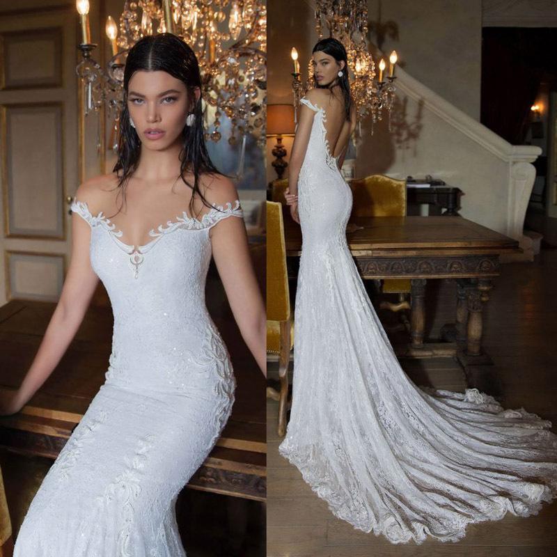 купить Свадебное платье Sarahbridal Berta 2015 sereia vestido de noiva WD007 недорого