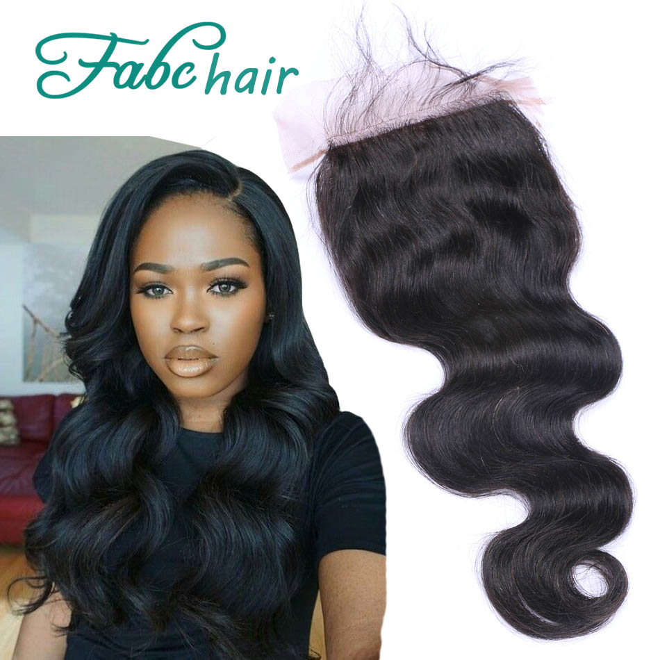 Hot Sale Brazillian Body Wave Closure,Free/Middle/3 Part Lace Closure Bleached Knots,3.5x4 Brazilian Hair Closure Piece In Stock(China (Mainland))