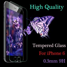 High quality For Apple iPhone 6 Tempered Glass Screen Protector For iPhone 6s Screen Protector Film 4.7″inch With Retail Box