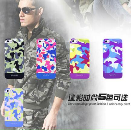 Светящиеся в темноте Прорезиненные матовый матовый Жесткий армейский камуфляж, чехол для iPhone 4S и 4