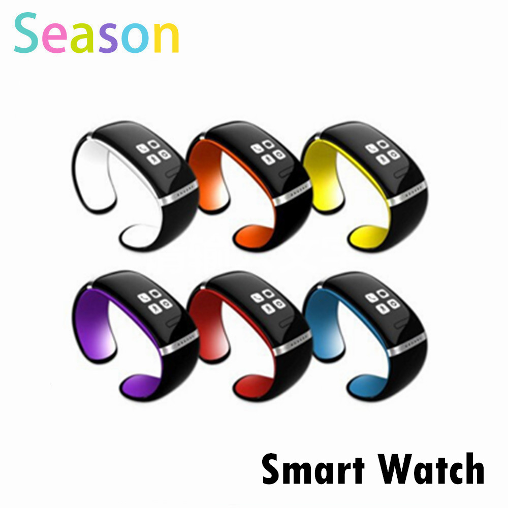 Smart Wristband L12S OLED Bluetooth Bracelet Wrist Watch Design for IOS iPhone Android Phones Wearable Electronic<br><br>Aliexpress