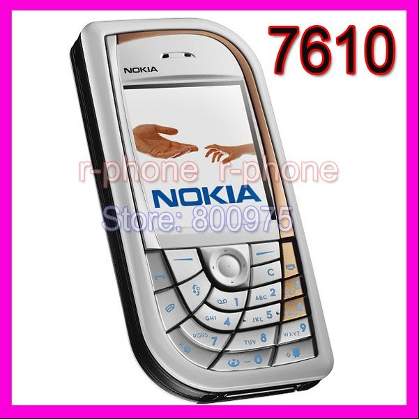 Refurbished Original Unlocked Nokia 7610 Mobile Cell Phone & Promotional Item !!! Lowest price !!! 7610(China (Mainland))