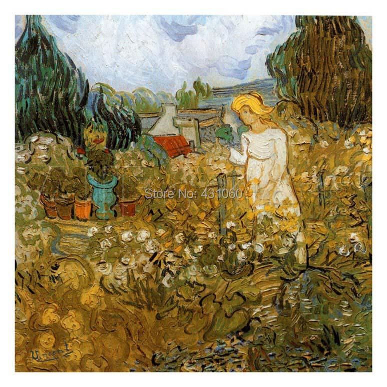 Home decoration vincent van gogh painting marguerite for Bruler dans son jardin