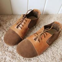 sapatos femininos 2015 старинные девушка т образный пряжкой Пу женщин кожаные плоские туфли