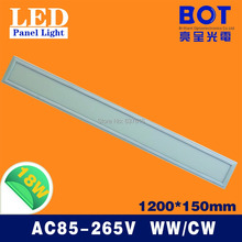 1200*150mm 18W LED panel light SMD2835 School/Hospital/Super market/Workshop/Office/Home/Hotel meeting room lighting White(China (Mainland))