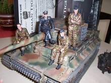 FOV print 85,504 1:16 WWII German Tiger  unit limited edition FM(China (Mainland))