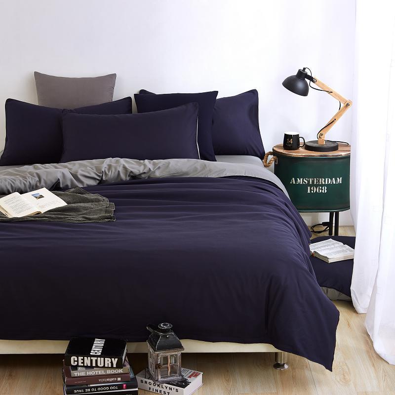 gris linge housse de couette promotion achetez des gris linge housse de couette promotionnels. Black Bedroom Furniture Sets. Home Design Ideas