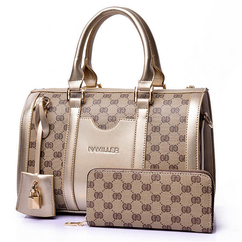 women bag 2016 fashion new female bag in high quality ladies handbags luxury single shoulder bag buy 1, get 1 free shipping(China (Mainland))