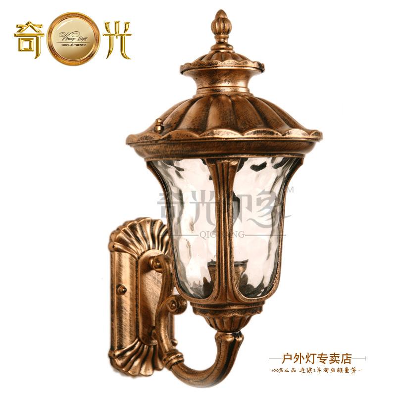 Vintage outdoor lamps promotion achetez des vintage for Lampe exterieur etanche