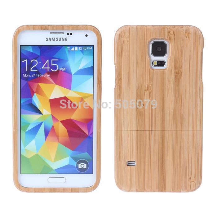 12pcs/lot Bulk Bamboo For Capa Para Samsung Galaxy S5 Case Wood Cell Phone Cases Luxury Cover Wooden Funda Fashion Carcasas(China (Mainland))