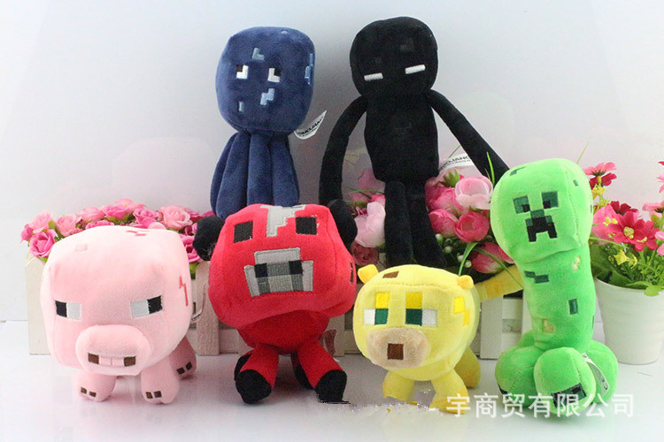 Mining Toys For Boys : New minecraft plush toy mine craft classical for