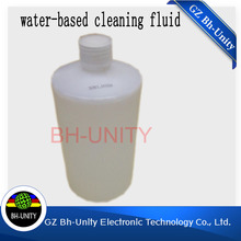 Factory price!!! cleaning fluid of 1000ml bottle for water based printhead(Hong Kong)