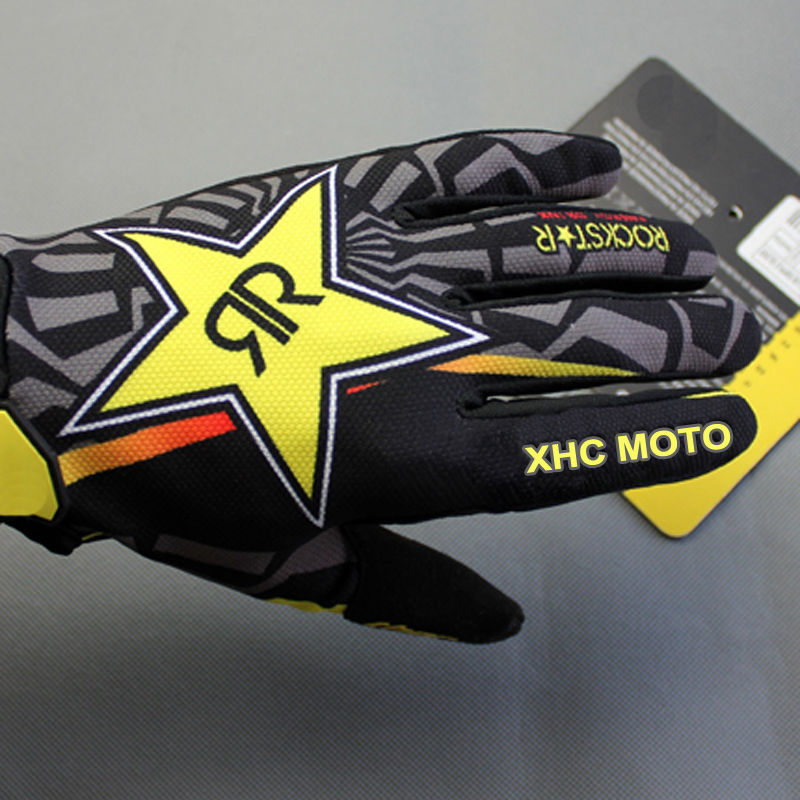 Rockstar-Motocross-gloves-Cycling-Riding-Bike-Sports-Mountain-Bicycle-Racing-Motorcycle-Full-Finger-Gloves-M-L