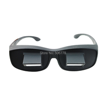 New arrival Bed Prism Spectacles Horizontal Lazy Glasses For Reading and Watching TV freeshipping(China (Mainland))