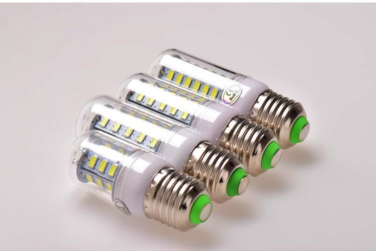 Eyourlife марка E27 из светодиодов лампы 5730 лампада из светодиодов 220 В 7 Вт 12 Вт 15 Вт 18 Вт 20 Вт из светодиодов кукуруза