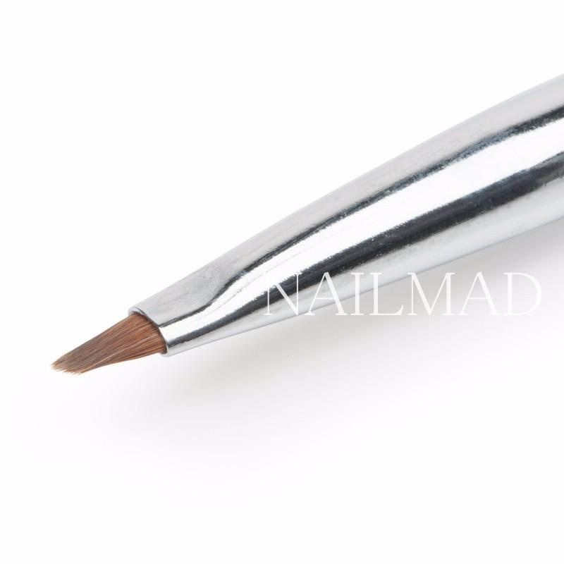 1pc Clean Up Brush Nail Art Flat Brush Cuticle Clean Up Brush Acrylic Brush Nail Tools