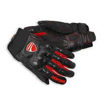 The real thing Ducati Ducati Flow Gloves leather racing car Motorcycle gloves cycling gloves(China (Mainland))