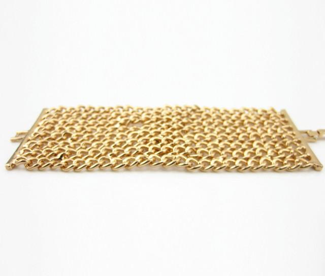 Высокое Качество Vintage Стиль Золотые Доллары Браслеты Femme Хип-Хоп Braclet Braslets ...