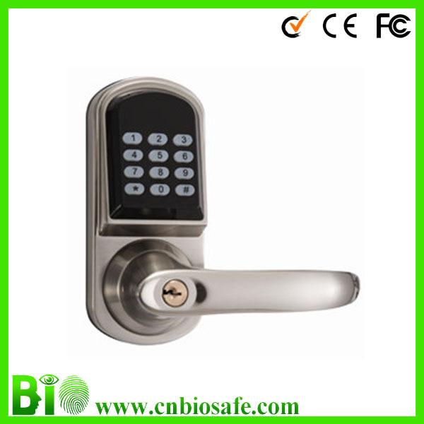 Waterproof Noctilucent Password RFID Door Lock Home HF-LC901, Code+IC card+Mechanical keys(China (Mainland))