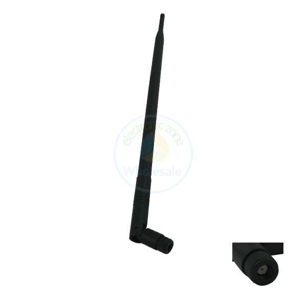 New 2.4GHz 5ghz 5.8ghz 9 dBi Wireless Antenna Booster WLAN RP-SMA WIFI Style 1(China (Mainland))
