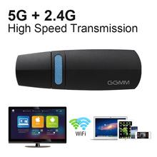 GGMM V-linker TV Stick Mirascreen DLNA Mini PC Android WiFi Display Miracast EZCast 5G Dongle Wireless HDMI Receiver Chromecast(China (Mainland))