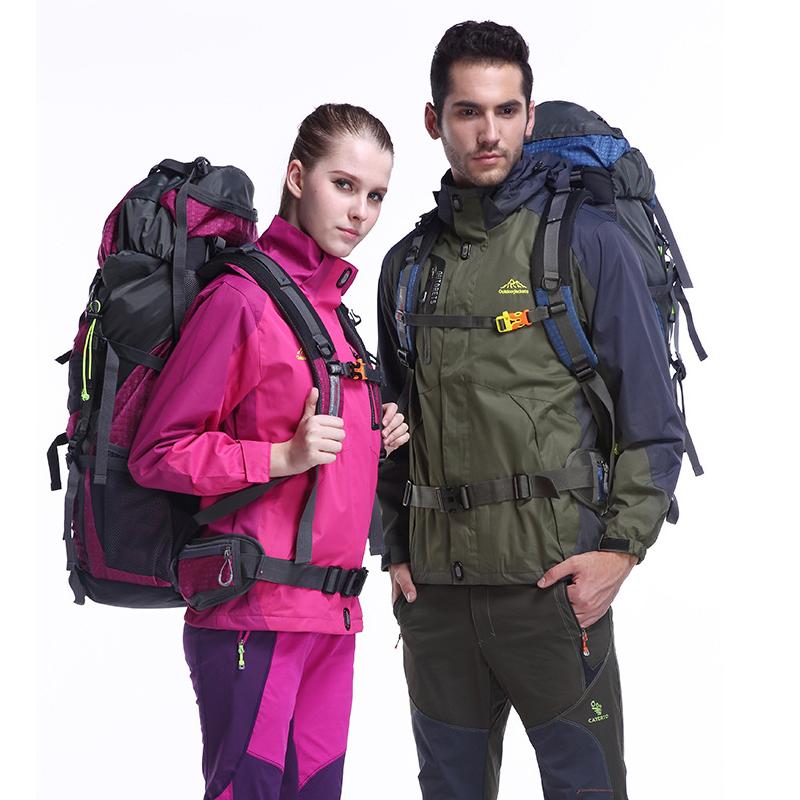2016 Autumn Outdoor Waterproof Jacket Hiking Men Women Camping Fishing Breathable Jacket Coat Windbreakers Sportswear M-6XL(China (Mainland))