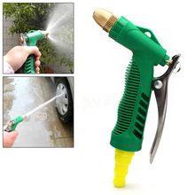 Adjustable Pressure Water Washer Nozzle Household Garden Car Wash Water Gun #EA10285(China (Mainland))