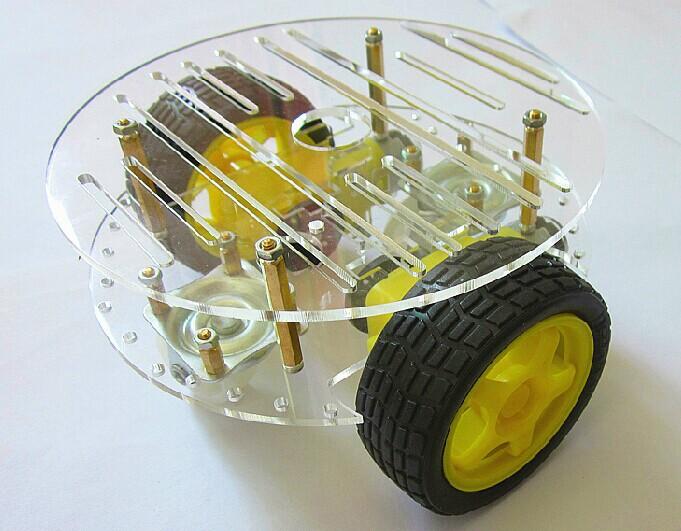 New wheel motor smart robot car chassis speed encoder