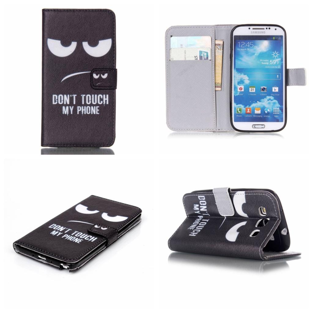 Cute Leather Wallet Flip Cover Case For Samsung Galaxy S2 S3 S4 S5 S6 ...
