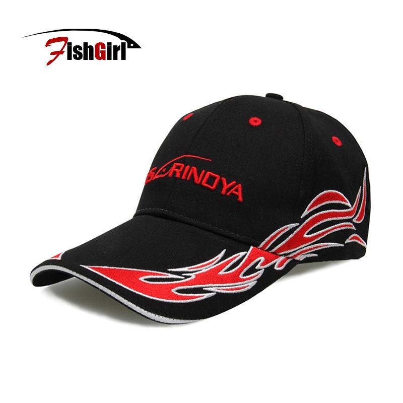 Trulinaoya Fishing Caps Direct Visor Caps Adjustable 100% Polyseter Outdoor Fishing Baseball Men Hat For Fishing Tackle D30