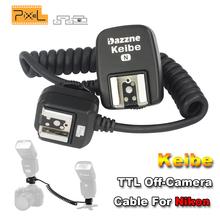 Buy Pixel Keibe 1m/3.6m TTL Off-Camera Hot Shoe Sync Cord Flashgun Cable Nikon D5200 D3200 D7200 D800 D90 SB910 SB900 Flash Cord for $17.42 in AliExpress store