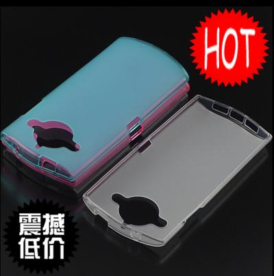 Wholesale Cover TPU Soft Silicone Case For Meitu M4 Cell Phones Bag Candy Jelly Color (Gift Touch Pen)(China (Mainland))