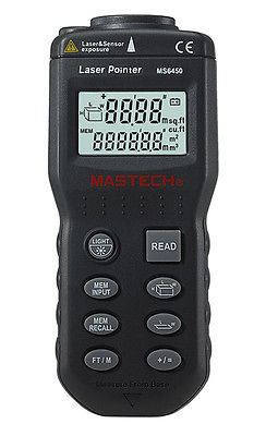 Ultrasonic Distance Measurer Meter Rangefinder MS6450 Length Area Volume*<br><br>Aliexpress