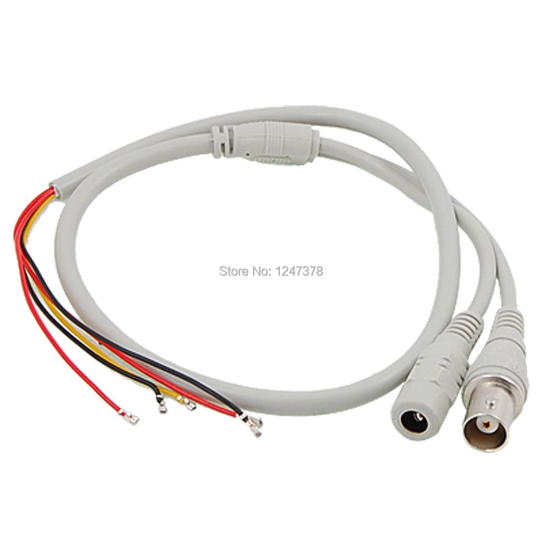 CCTV System 2.1x5.5mm Female DC Power Jack BNC Plug to 2P 3P Splitter Cable(China (Mainland))