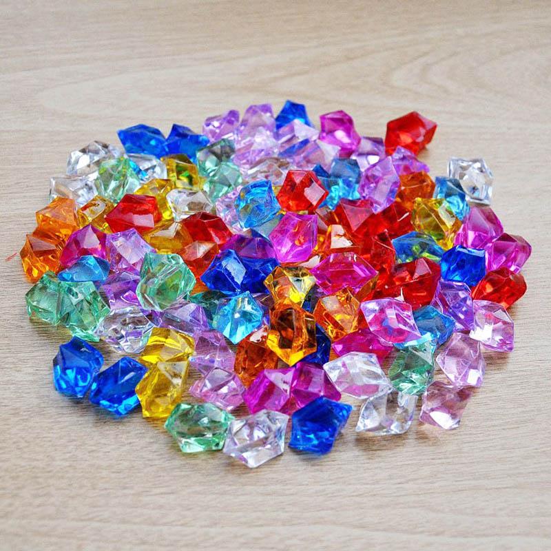 200 pcs transparent wedding acrylic diamond decoration glass bottles table centerpiece event party supplier(China (Mainland))