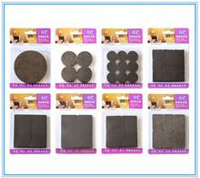 9 types Furniture Leg Floor pads Felt Furniture Protector Cushion Phone Electric Non Slip pads Adhesive Mat(China (Mainland))