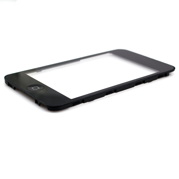Black Outer Glass Lens+Touch Screen Digitizer +Home Button For ipod touch 3TH 3G, free shipping+tracking No.