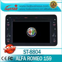 car dvd stereo For Fiat Alfa Romeo 159 Sportwagon (2005 onwards) With gps bluetooth radio PIP ipod USB SD Slot
