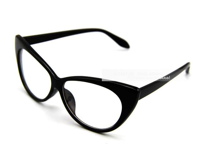 Винтажный Cat в глаз моделирование очки для чтения женщины рама прозрачный линзы солнечные очки CE DT0083