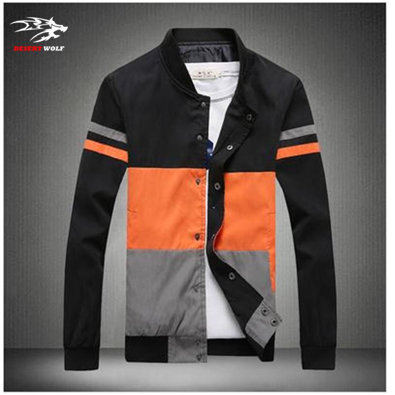 M-5XL Men Korean Slim jacket collar men's coat Korean Slim tide men's fashion casual jacket(China (Mainland))