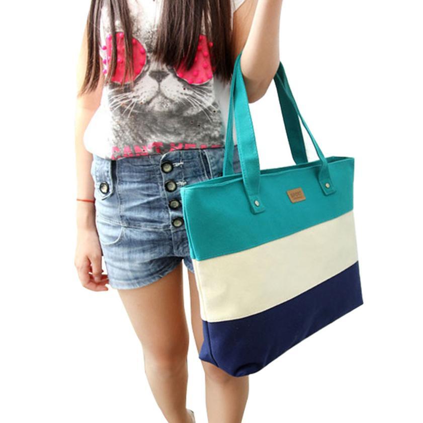 Handbags Casual Tote Two Strap Bag Totes Fashion Canvas Zipper Versatile Bags para mujer B3(China (Mainland))