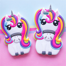 Buy Hot Cute 3D Rainbow Unicorn Horse Animal Cartoon Soft Silicone Phone Cases Cover Samsung J3 J5 J510 J7 J710 A5 A510 A7 A710 for $3.51 in AliExpress store