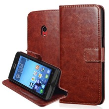 Vintage Flip Leather Wallet Case For ASUS Zenfone 5 With Stand Phone Bag Style With 2 Card Holder Brand New 2015