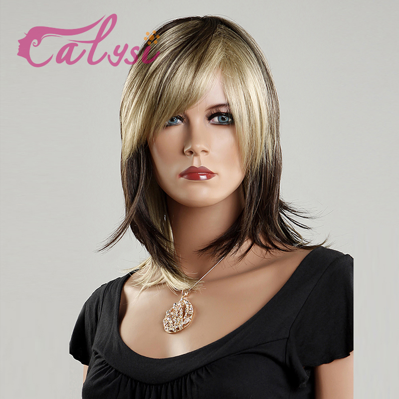 hot sale best discount medium wigs hair with cheap price for girls w3710-02(China (Mainland))