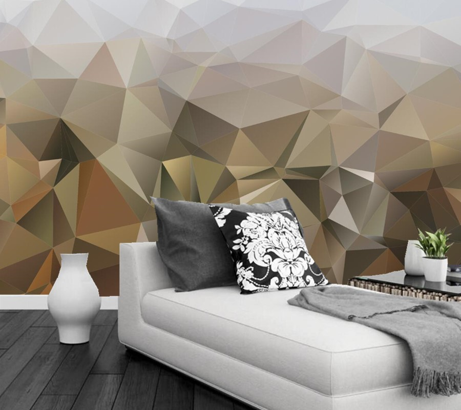 Custom texture abstraction mural wallpaper 3d living room for 3d wall murals for living room
