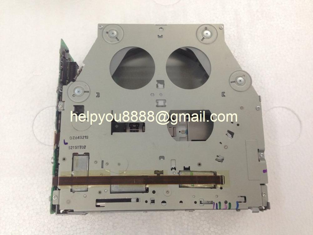 Original Alpine 6 CD Changer mechanism loader for Mercedes MH3210 LanRoveer Chrysler car CD radio 6 disc CD player